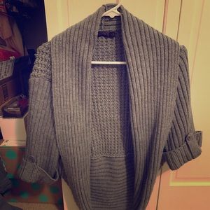 The Limited Open Cardigan, Wide Sleeves